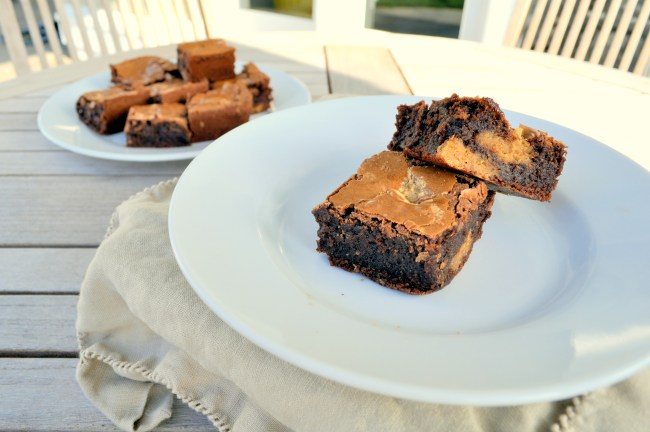 Peanut Butter Cookie Fudge Brownies