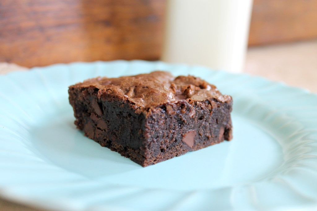 The Baked Brownie is the best brownie I've ever made! It is super fudgy, full of chocolate, with a crackly top that will have you begging for seconds.