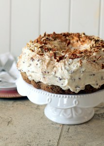 Carrot Cake with Pecan Cream Cheese Frosting | Bakerita.com