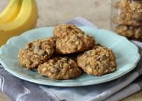 Banana Oatmeal Chocolate Chip Cookies