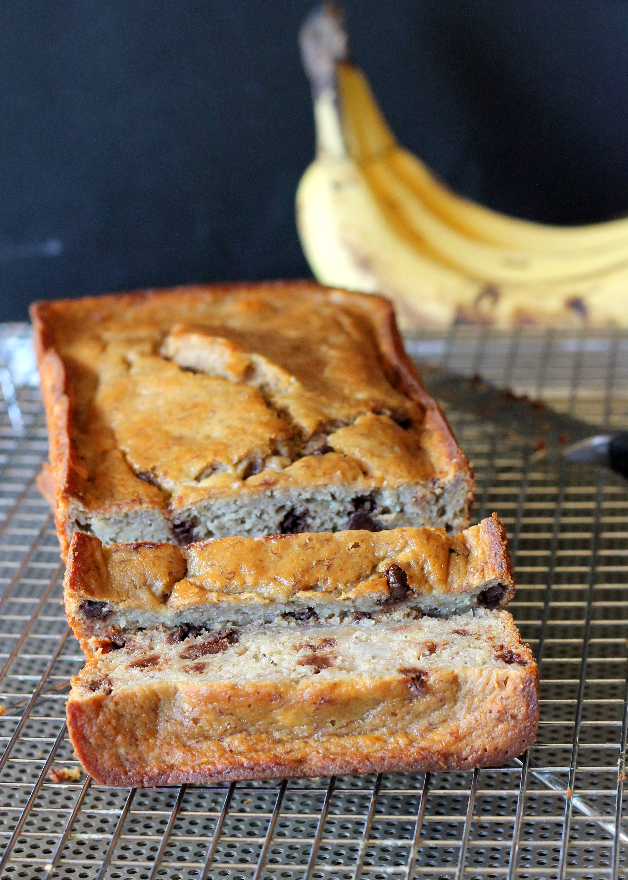 Secretly Healthy Banana Bread (Gluten Free)
