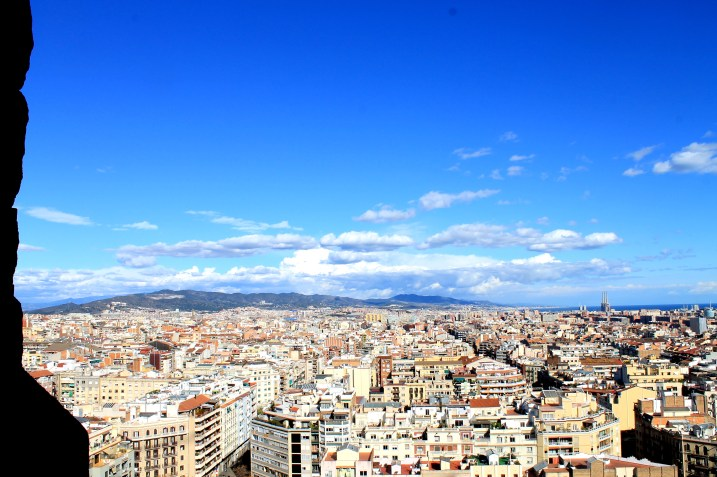 View from Sagrada Familia in Barcelona | Bakerita.com