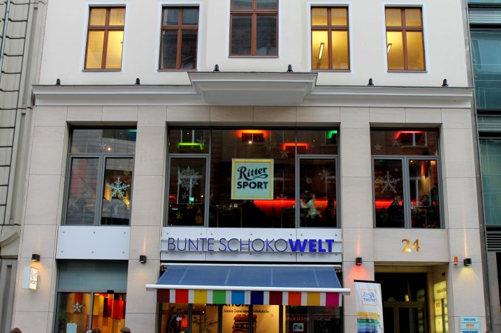 Ritter Sport Chocolate Store in Berlin, Germany | Bakerita.com