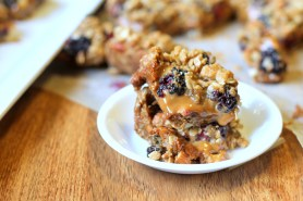 Blackberry Dulce De Leche Crumb Bars