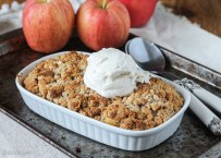 Small Serving Apple Crisp (GF, Vegan)