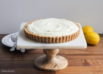 Frozen Lemon Cream Tart with Browned Butter Crust