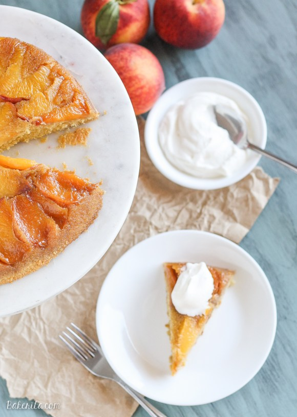 ... cornmeal cake. It's perfect served with a little whipped cream and