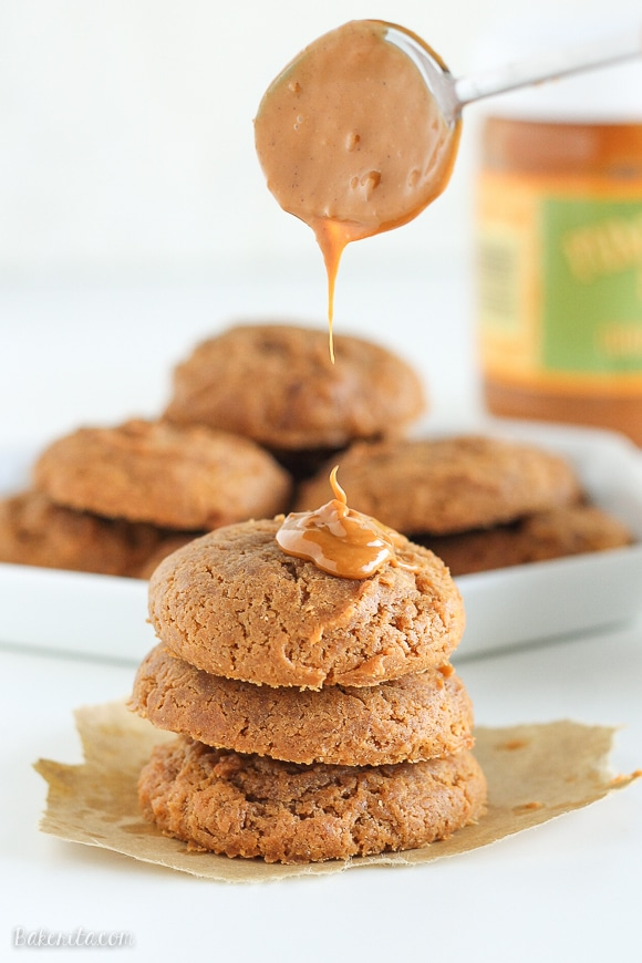 These super easy Cookie Butter Cookies only have three ingredients! This quick recipe will become a staple once you try these soft, flavorful cookies.
