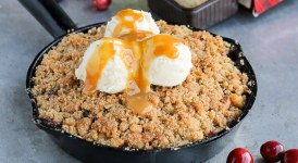 Pear Cranberry Ginger Crisp (GF)