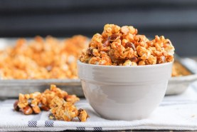 Salted Honey Almond Caramel Corn