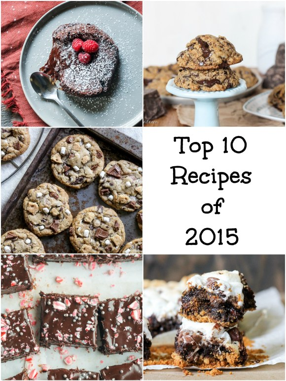 These recipes make up Bakerita's Top 10 Recipes of 2015! These are the reader favorites that have been a hit in kitchens all over - these favorites won't disappoint.