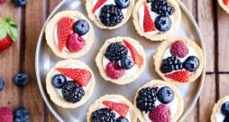 Mini Berry Tarts (Paleo, Gluten Free + Vegan)