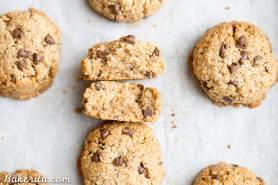 Chocolate Chip Macaroons (Gluten Free, Paleo + Vegan)