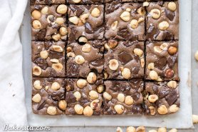 Chocolate Hazelnut Bars (Gluten Free + Paleo)