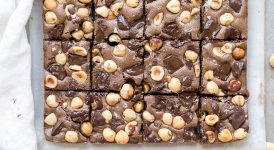 Chocolate Hazelnut Bars (Gluten Free + Paleo)