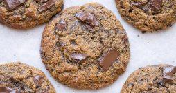Pumpkin Chocolate Chunk Cookies (Gluten Free + Grain Free)