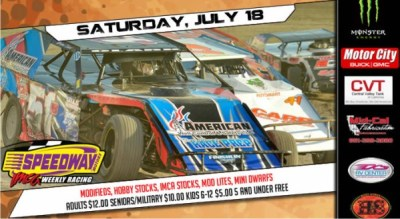 Modifieds hit the 1/3 mile Saturday July 18th – Bakersfield Speedway