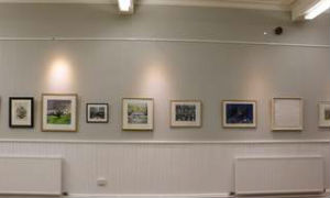 Sheffield Printmakers First hanging.
