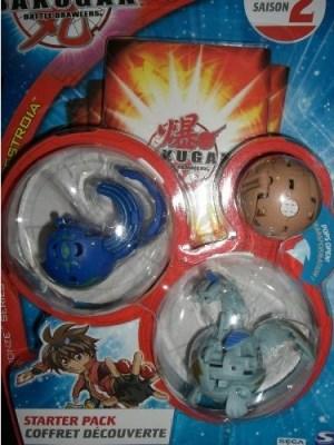BakuBronze StarterPack Bakugan BakuBronze Packs