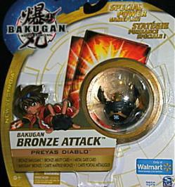 Bronze Attack Preyas Diablo Bronze Attack Bakugan