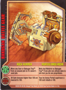 battlegear rockhammer card 222x300 Rock Hammer Bakugan Battle Gear