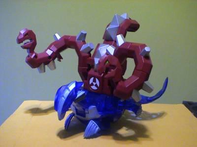 Rubanoid Destrakon Destrakon Gear Bakugan Battle Gear