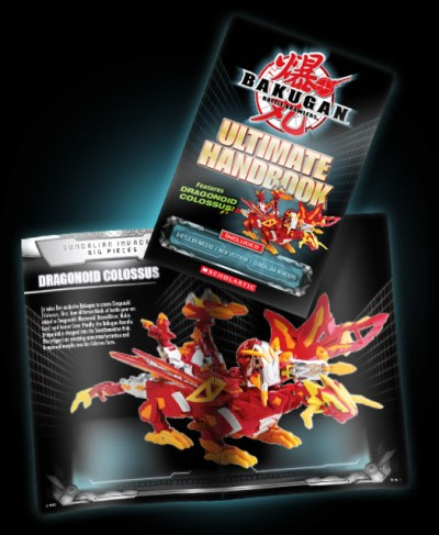 scholastic handbook 1 All New Bakugan: Ultimate Handbook!