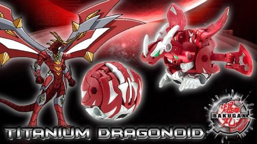 titanium dragonoid Titanium Dragonoid Bakugan