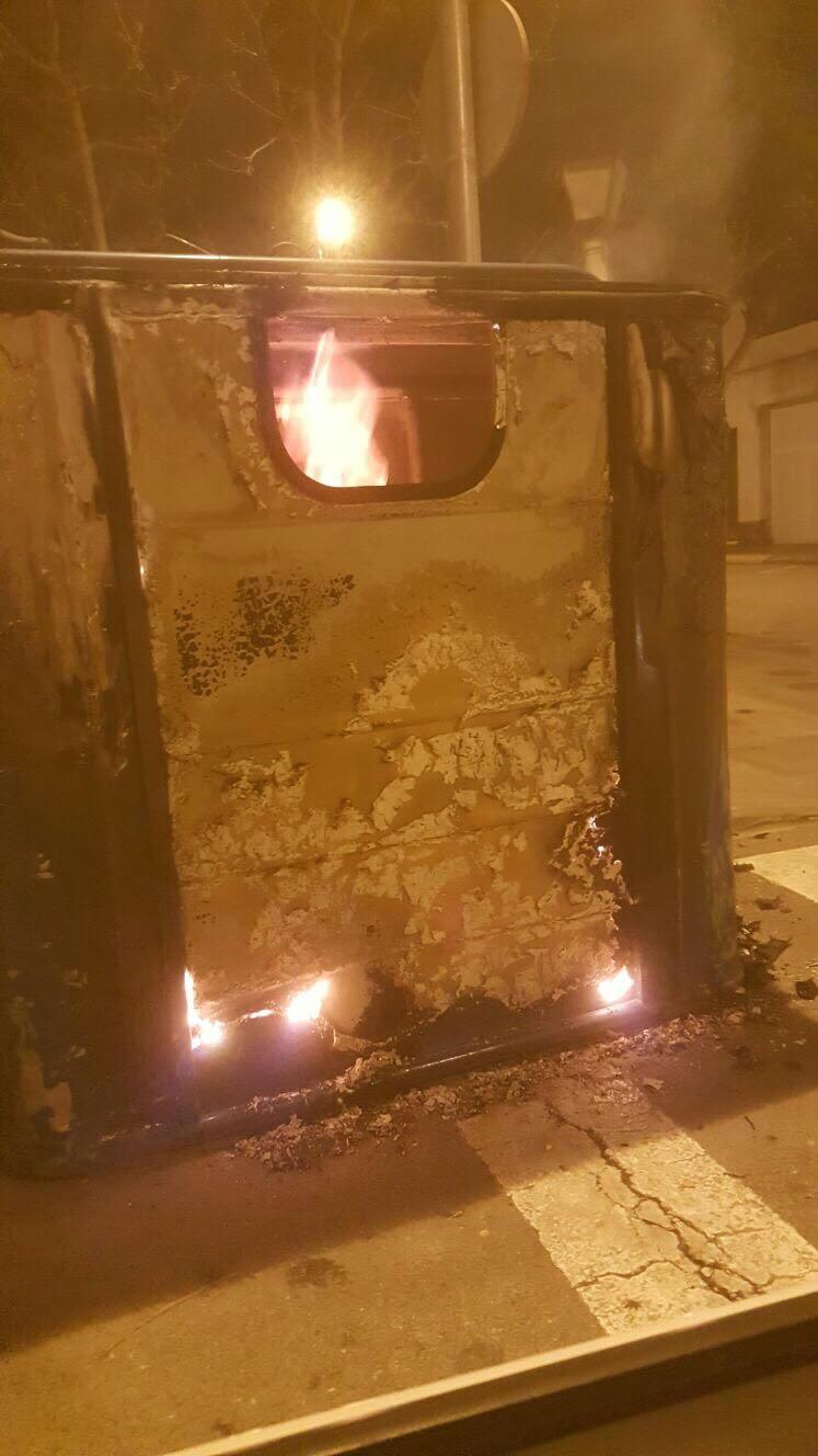 contenidor cremat