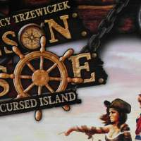 Robinson Crusoe adventure on the cursed island