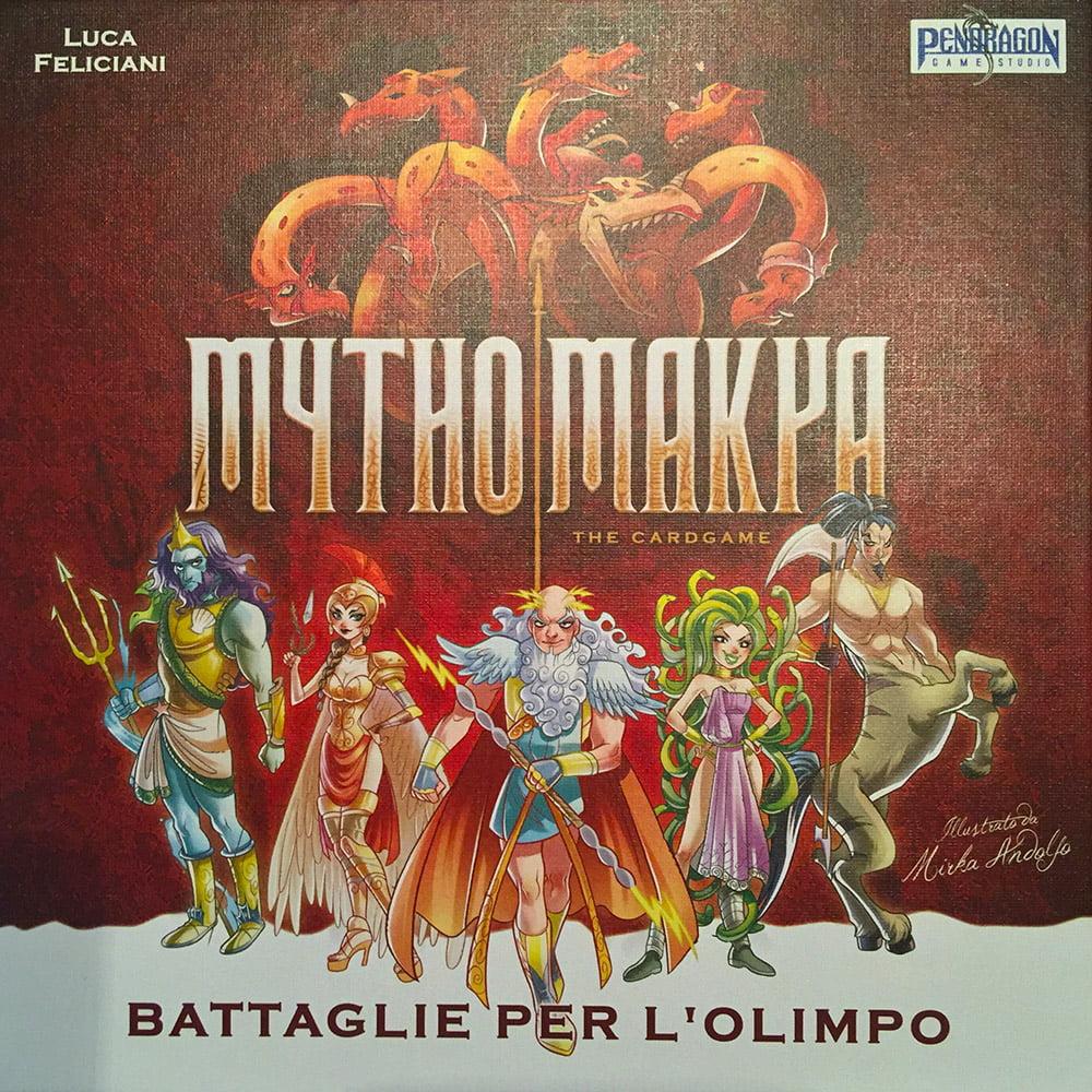 La copertina fumettosa del gioco.
