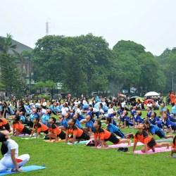 Gebyar Yoga IHDN Denpasar Diikuti 1.500 Peserta