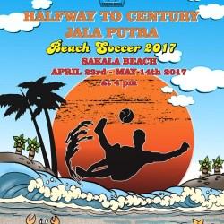 """50 Tahun PS Jala Putra,  Gelar """"Beach Soccer"""" Jalin Kekerabatan"""