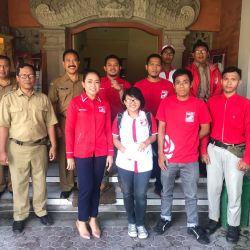 PSI Klungkung Silaturahmi dengan Kesbangpol