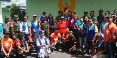Rotari Disaster Relief Bantu Tas Keselamatan Babinsa
