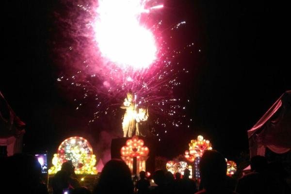 Sambut Nataru, ITDC Gelar Nusa Dua Light Festival