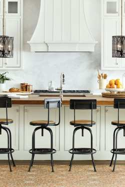 Sterling Your Kitchen How To Choose Right Stool Heights Allen Stools Your Kitchen How To Decorate Kitchen Counter Height Table Island