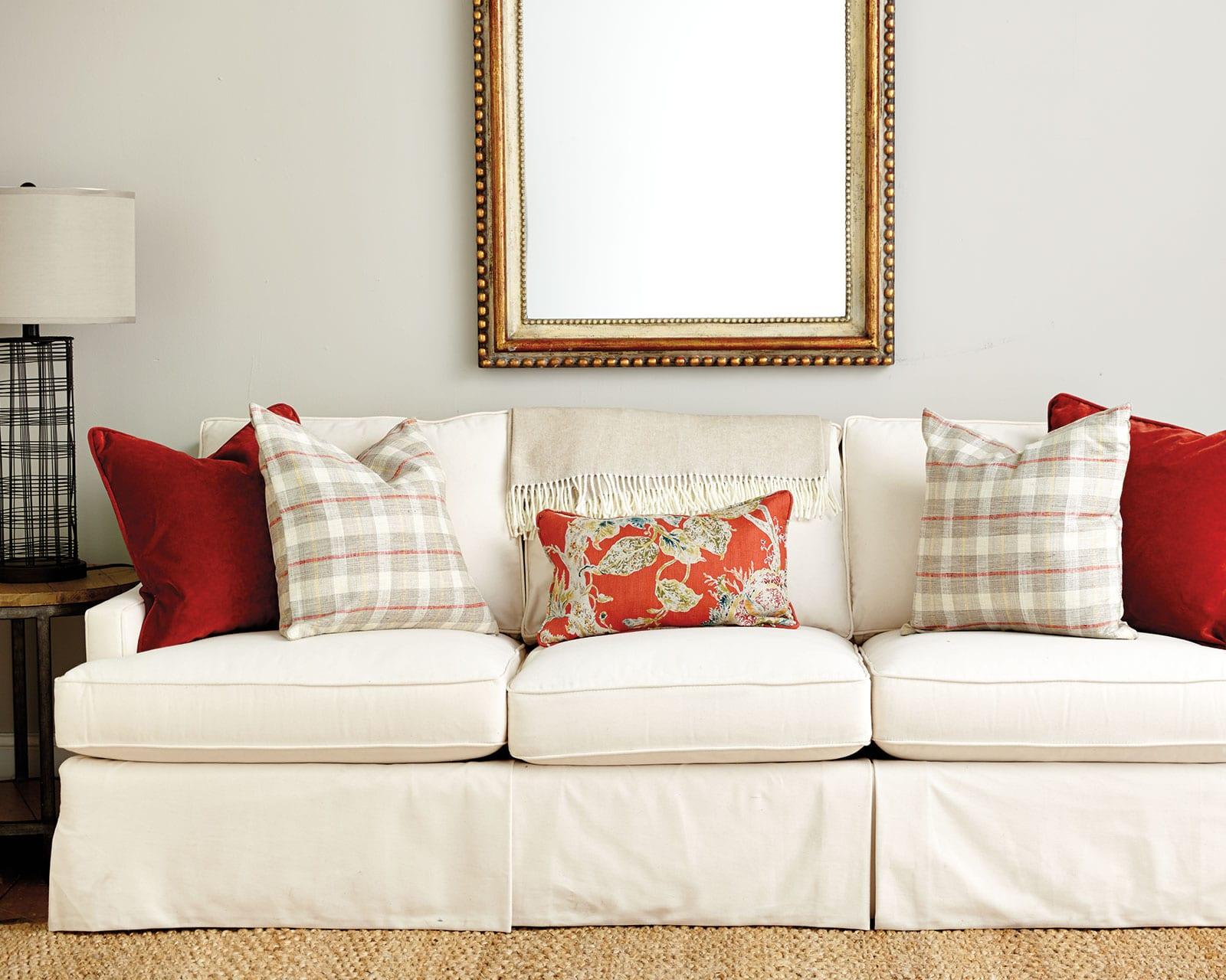 Sturdy Barrel Orange Lumbar Throw Pillows Spicy Orange Throw Pillows On A Sofa Guide To Choosing Throw Pillows How To Decorate Orange Throw Pillows Crate houzz-03 Orange Throw Pillows
