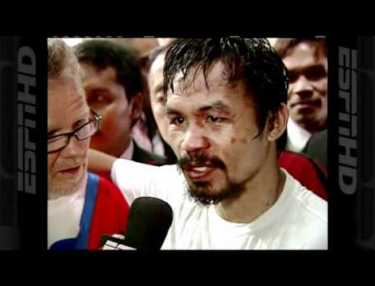 Manny Pacquiao Gives Antonio Margarito A Beating To Win Eighth World Title