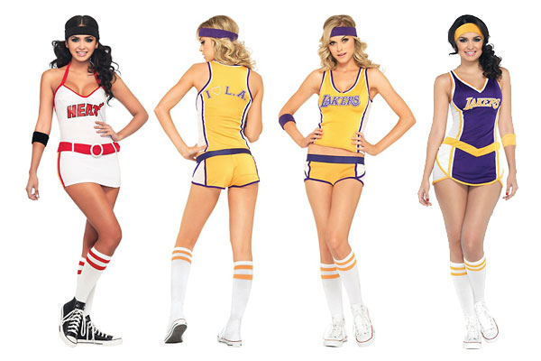 Women's NBA Halloween costumes