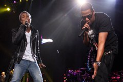 Pharrell and Jay-Z