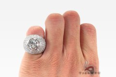 Alpha Ring 7.10 ct by TRAXNYC