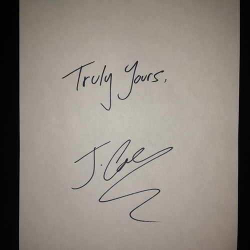 J. Cole - Truly Yours (Mixtape)