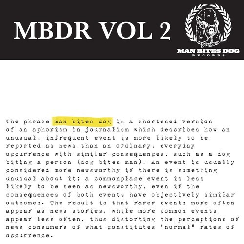 Man Bites Dog Records Presents: MBDR Volume 2 (Free LP)