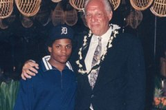 Eazy-E and Ruthless Records co-founder Jerry Heller