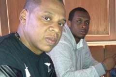 Geno Smith and Jay-Z