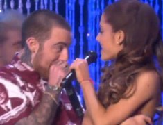 Ariana Grande, Mac Miller Perform 'The Way' on 'Ellen' (Video)