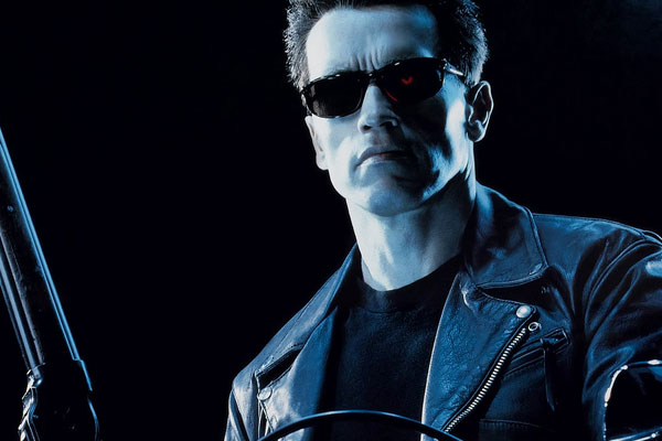 Arnold Schwarzenegger as The Terminator