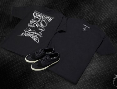 The Hundreds x Flying Coffin Capsule