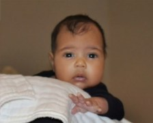 North West first photo